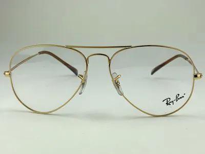 Ray Ban - RB 6049L - Dourado - 2500 - 55/14 - Armação para Grau