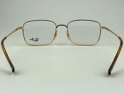 Ray Ban - RB 6437 - Dourado - 3036 - 53/19 - Armação para Grau