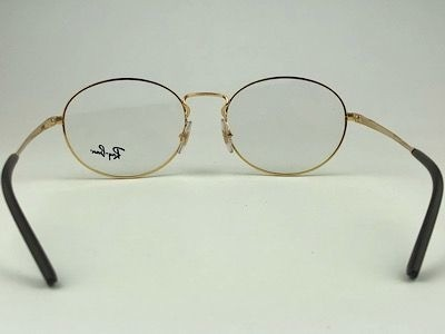 Ray Ban - RB 6439 - Dourado - 2500 - 54/18 - Armação para Grau