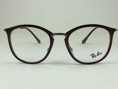 Ray Ban - RB 7140 - Vermelho - 5970 - 51/20 - Armação para Grau