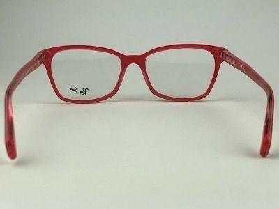 Ray Ban - RX 5362 - Vermelho - 5777 - 54/17 - Armação para Grau