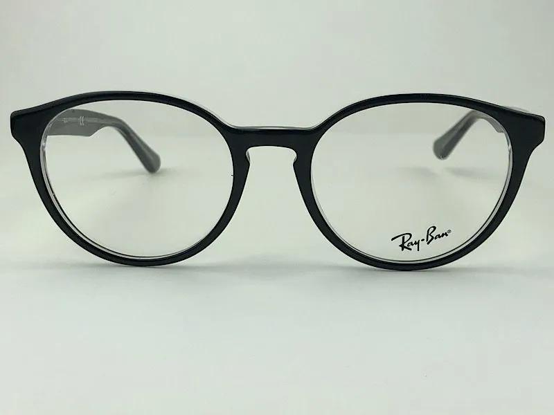 Ray Ban - RX 5380 - Preto - 2034 - 52/19 - Armação para Grau