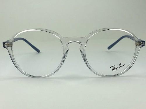 Ray Ban - RX 7173 - Transparente - 5951 - 51/20 - Armação para Grau