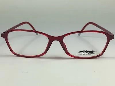 Silhouette - SPX 1583 75 - Vermelho - 3010 - 50/14 - Armação para Grau