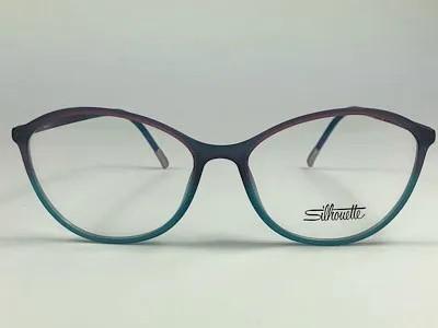 Silhouette - SPX 1584 75  - Verde - 4210 - 54/15 - Armação para Grau