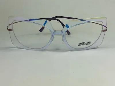 Silhouette - SPX 1589 75 - Transparente - 1040 -54/18 - Armação para Grau