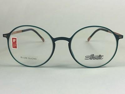 Silhouette - SPX 2901 30 - Verde - 6201 - 49/18 - Armação para Grau