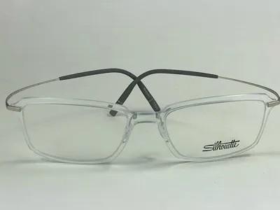 Silhouette - SPX 2916 75 - Transparente -1100 - 52/18 - Armação para Grau