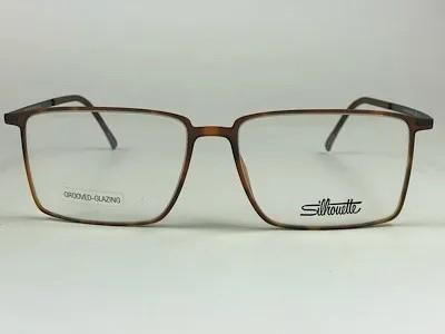 Silhouette - SPX 2919 75 - Havana - 6240 - 55/16 - Armação para Grau