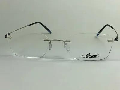Silhouette - SPX 5500 AV - Prata - 7000 - 53/19 - Armação para Grau