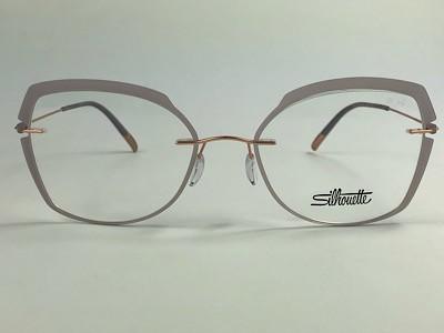 Silhouette - SPX 5500 GW - Dourado - 3730 - 54/19 - Armação para Grau