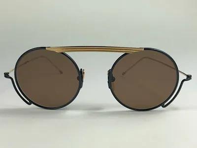 Thom Browne - TB TBS111 - Dourado - 03-NVY-GLD - 48/22 - Óculos de Sol