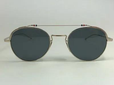 Thom Browne - TB TBS912 - Prata - 02-SLV-GLD - 49/22 - Óculos de Sol