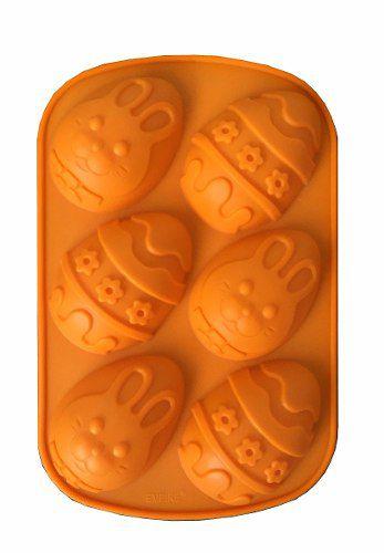 Forma De Silicone Ovos De Páscoa Doces Chocolate Bolinho