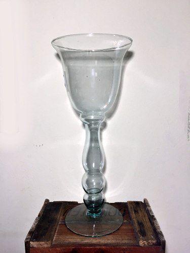 Vaso De Vidro Decoração Festas Casamentos 15 Anos 45cm