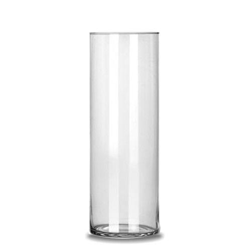 Vaso Tubo Copo Cilindro De Vidro 17x50cm Decoração Casamento