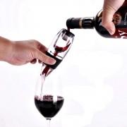Aerador De Vinho Portátil Com Suporte Decantador Premium