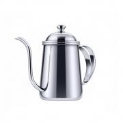Bule De Bico Fino Pescoço De Ganso Para Café Aço Inox 650ML