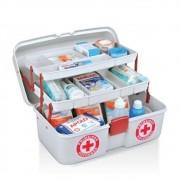 Caixa Maleta Veterinário Primeiro Socorros Remédios