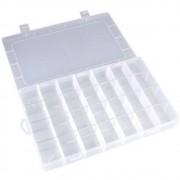 Caixa Organizadora Multiuso Com 28 Divisórias Moduláveis