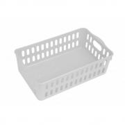Cesto Organizador De Plástico Para Cozinha Com Alça