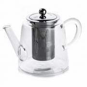 Chaleira Bule De Vidro Cozinha 600ML Com Infusor Para Chá