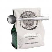 Colher Medidora Para Café Com Prendedor Em Aço Inox