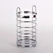 Escorredor Porta Talheres Cozinha Cromado Aço Inox