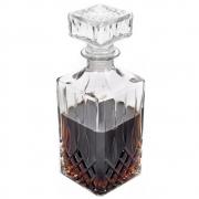 Garrafa Em Vidro Licor E Whisky Decoração Vintage 900ml