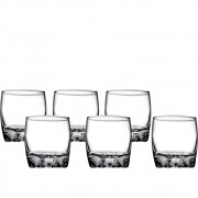 Jogo De Copos Mini Shot Aperitivo Whisky De Vidro 80ml 6un