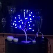 luminária arvore bolas De Led Natal Decoração 220v