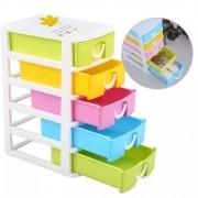 Organizador Mini Gaveteiro De Plástico Multiuso Porta Treco