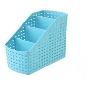 Organizador Multiuso De Mesa Cozinha Azul