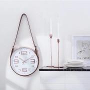 Relógio Escandinavo De Parede Ponteiro Contínuo Com Alça