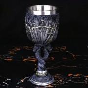 Taça Dragão Cálice Vinho Medieval Caneca Copo Got Throne