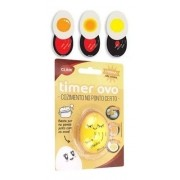 Timer Temporizador De Resina Para Cozimento De Ovos Amarelo