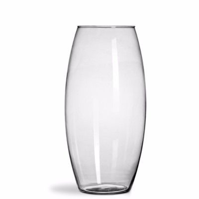 Kit 2 Vasos Castiçal De Vidro Decoração Casamentos 22cm