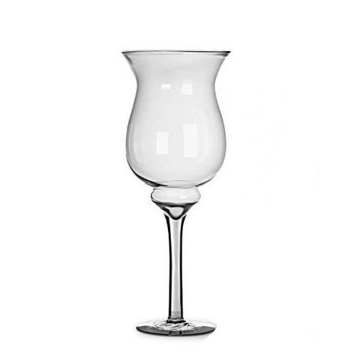 Taça Vaso 42 Cm Para Decoração Em Vidro Festa Casamento Mesa