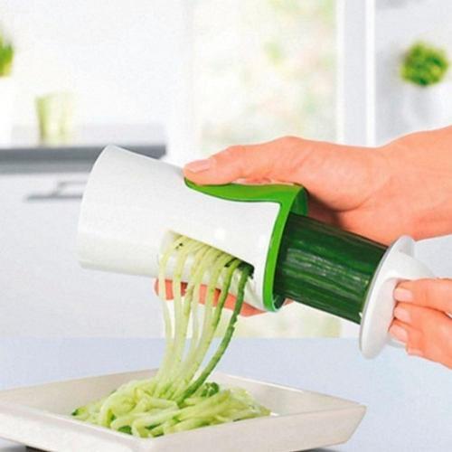 Cortador De Vegetal Legumes Em Espiral Saladas