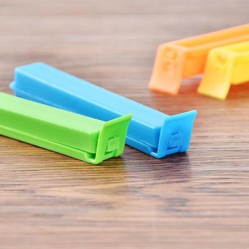4 Peças Lacre Prendedor Fecho Clips Embalagens