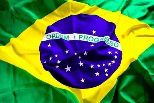 Bandeira Do Brasil Torcida Copa 1,20 X 1,80 Pronta Entrega