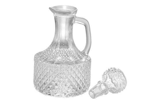 Garrafa De Vidro Retrô Para Vinagre Azeite Decoração