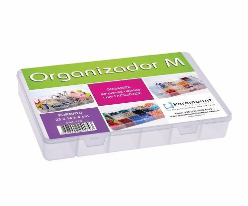 Caixa Estojo Organizador Multiuso 14 Divisórias Parafusos
