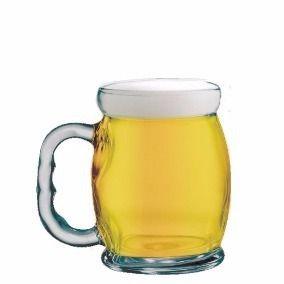 Caneca Copo De Chopp Cerveja Em Vidro Bar Oktoberfest 475ml