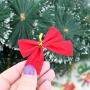 Cartela Com 36 Laços Enfeite Árvore De Natal E Decoração