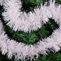 Festão Branco 2 Metros Enfeite Decorativo Arvore Natal