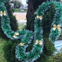 Kit 12 Laço Decorativo Plástico Para Natal Árvore Dourado