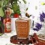 Kit 3 Garrafa Em Vidro Licor Whisky Decoração Vintage 900ml