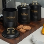 Kit 3 Porta Condimento Lata Industrial Com Tampa 1350ml