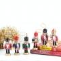 Kit 6 Mini Boneco Decorativo Enfeite Decoração Natal Árvore